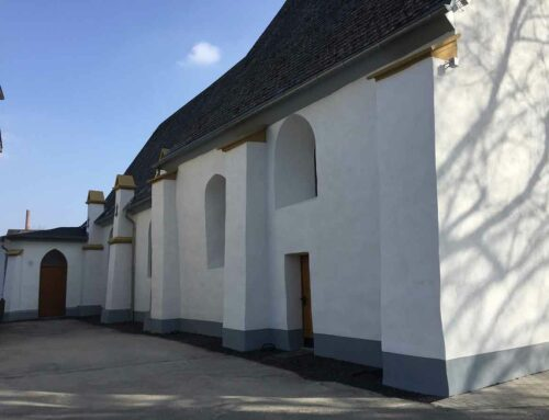 Restaurierung an der Außenfassade abgeschlossen